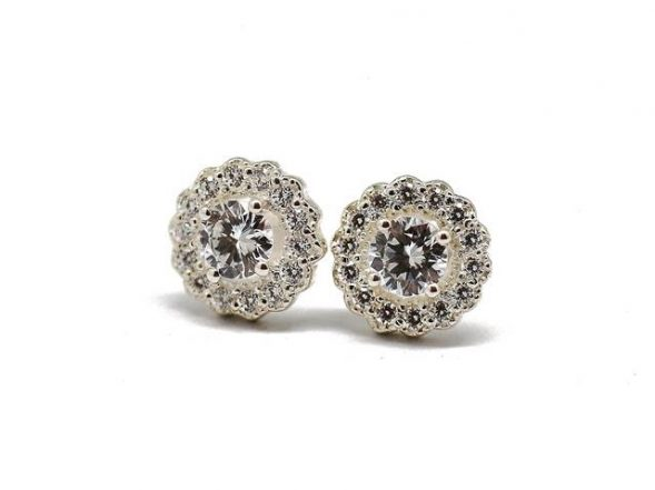 Stud earrings. R1300 ($95). Free delivery in South Africa.